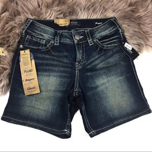 Silver Jeans Co. Extra stretch Suki Shorts